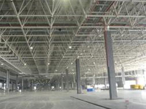 大跨度钢结构车间
